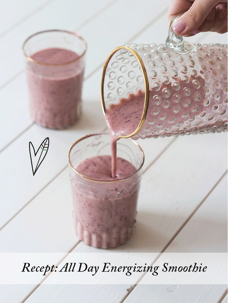 Recept: All Day Energizing Smoothie