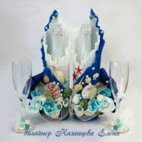 Gallery.ru / Фото #38 - свадебные бутылки - kazantceva