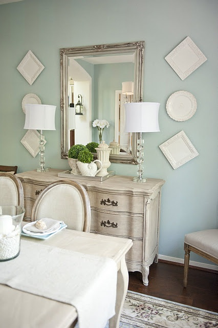 Sherwin Williams Wedgewood Gray (nothing gray about it! very blue!)