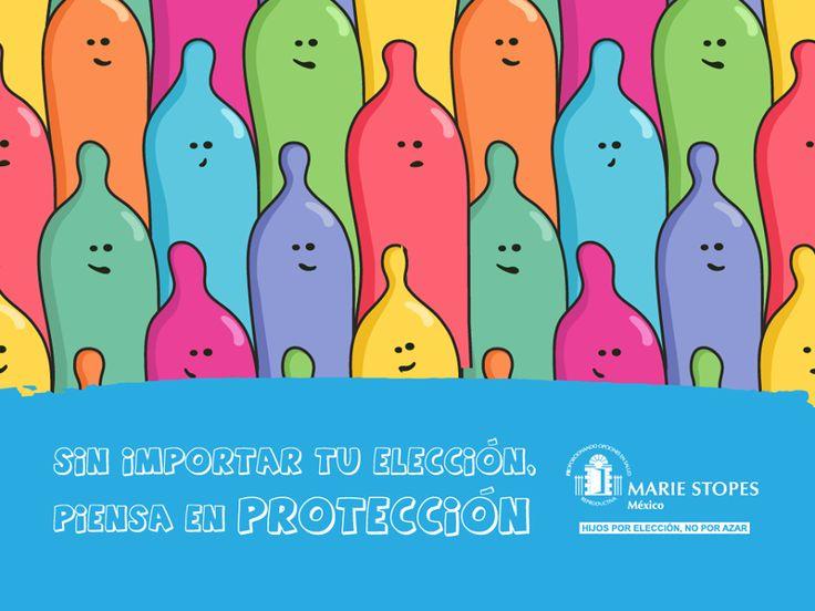Hay diferentes tipos de condones para toda ocasión, ¿cuál te va mejor? Sin importar tu elección, piensa en protección.