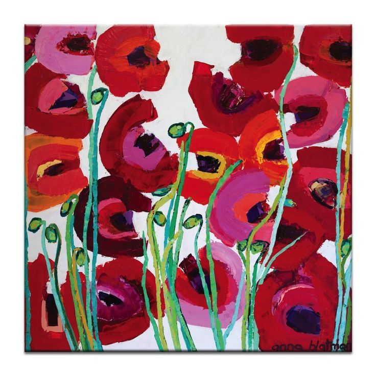 Poppy Mixed Canvas Print