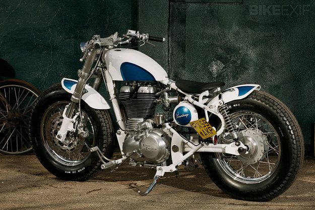 """Royal Enfield """" Bullet Electra """" by Old Empire Motorcycles   Gear X Head"""