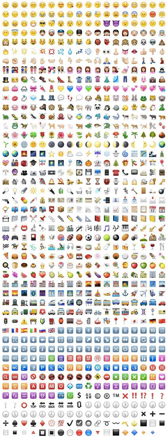 emoji letters copy and paste