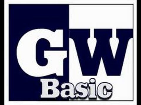 how to download and install gw basic on windows 7,8,8.1&10