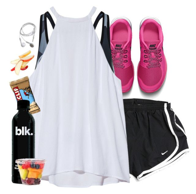 """""""Healthy"""" by aweaver-2 ❤ liked on Polyvore featuring NIKE, Ultracor and A.L.C."""