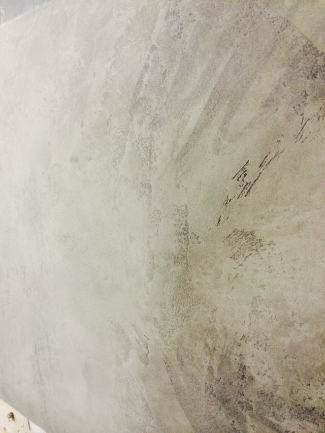 Plaster concrete effect, part of our recent brief by Paul Smith