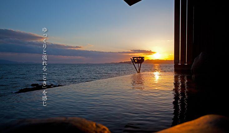 温泉 海に面した露天風呂の宿 赤穂温泉 銀波荘 赤穂 旅館