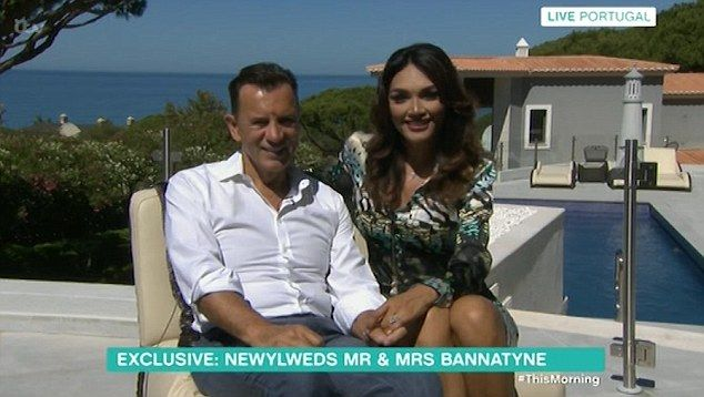 'We're really happy': Duncan Bannatyne, 68, and his wife Nigora Whitehorn, 36, gushed about their wedding day in the face of cruel trolls who have taken aim of their age gap since they started dating two years ago