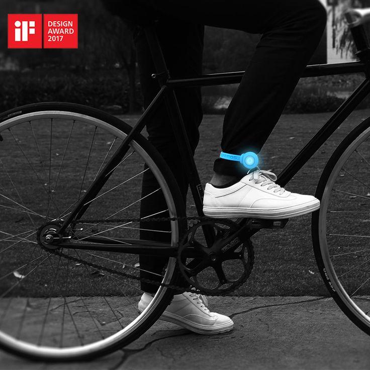 Rockbros if design award mtb camino de la bicicleta flash led luz impermeable de la bicicleta bicicleta luz de advertencia de la cola clip de cinturón de espiritualidad