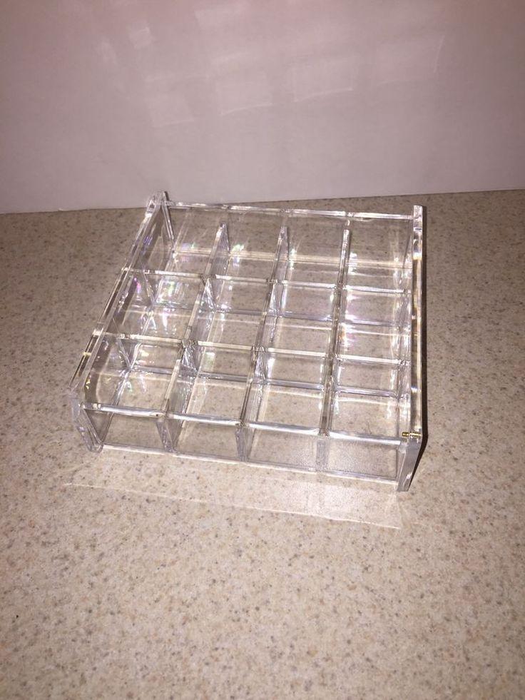Choice Fun 12 Compartment Acrylic Jewelry Storage Tray    eBay