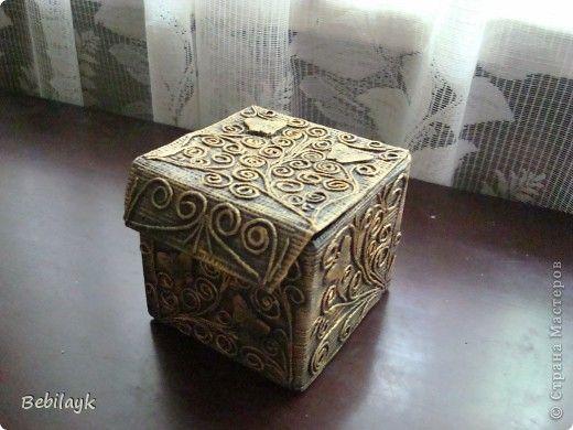 Коробочка для чайных пакетиков | Страна Мастеров