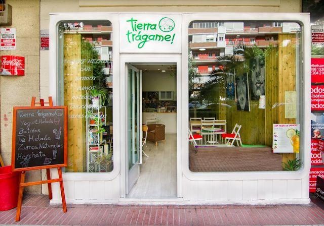 Tierra Trágame, acogedora yogurtería - cafetería en la zona de El Carmen | Don't Stop Madrid