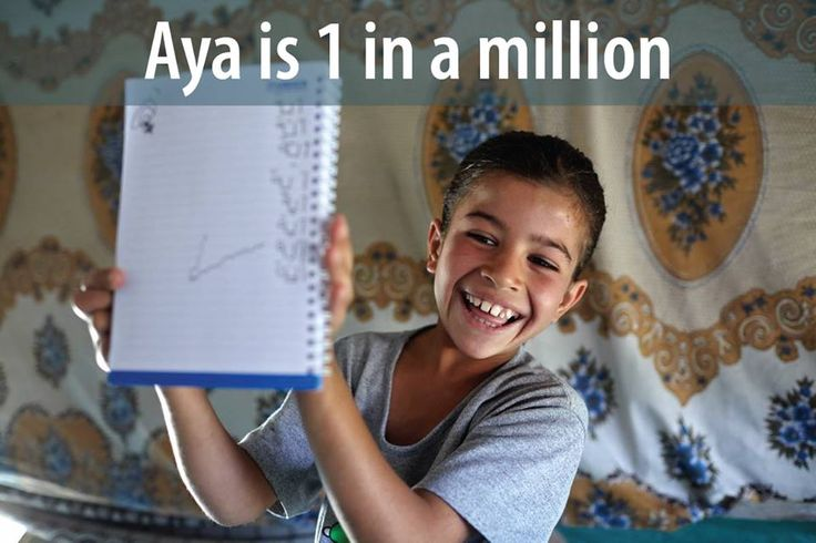 1 million Syrian children are now refugees. Please share this photo of beautiful Aya. Her generation, the heart and pulse of a nation, needs our help.  UNICEF: http://uni.cf/childrenofsyria UN Refugee Agency: http://donate.unhcr.org/syria?utm_source=unhcr-website_medium=web_campaign=SyriaCrisis