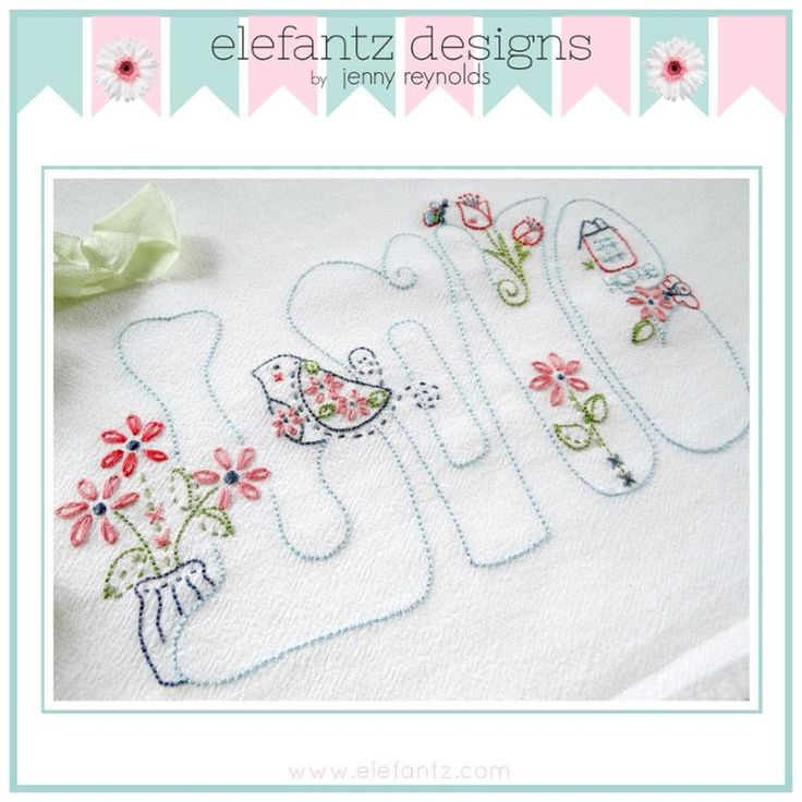 2445 Best Images About Embroidery LOVE On Pinterest | Stitching Different Alphabets And Hand ...