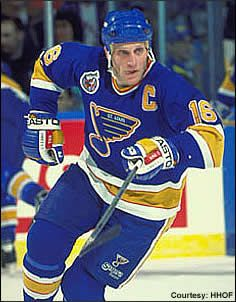 Brett Hull...watched many Blues games growing up...heart and soul of the Lou!