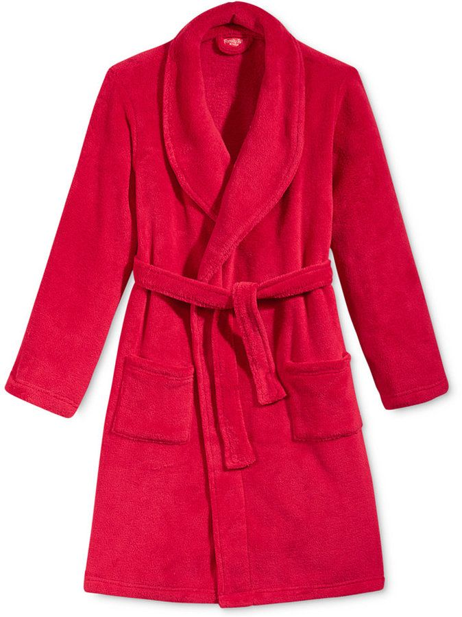 Family Pajamas Boys' or Girls' Super Soft Short Robe, Only at Macy's