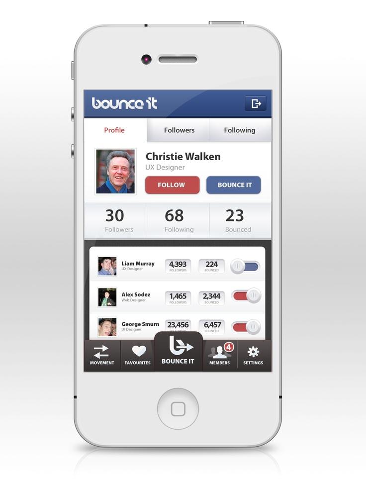 52 best Ui - Profile Design images on Pinterest Dashboard design - mobile resume