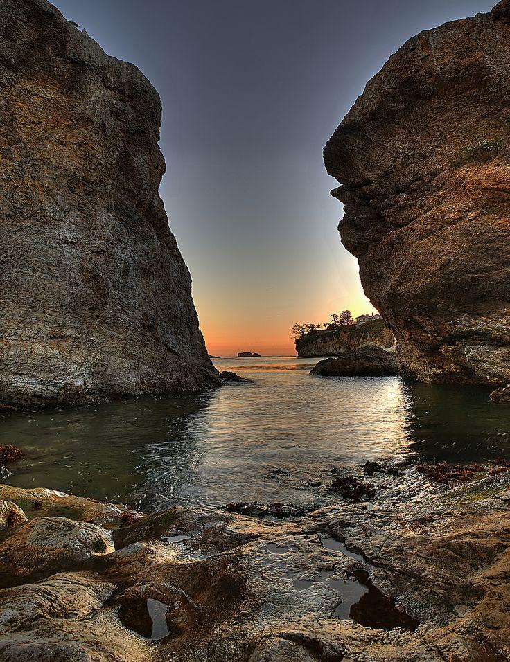 Shell Beach Sunset, Pismo Beach, San Luis Obispo, California