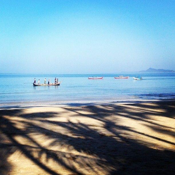 Ngapali Beach – just off the Bay of Bengal / Andaman Sea
