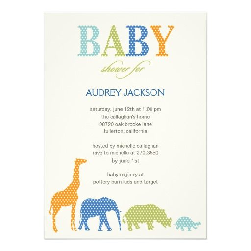 1590 best Safari Baby Shower Invites images on Pinterest Invites - best of invitation card for new zoo