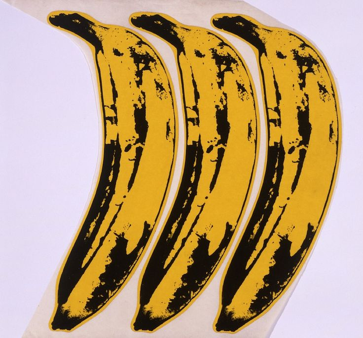 andy warhol pop art banana - photo #23