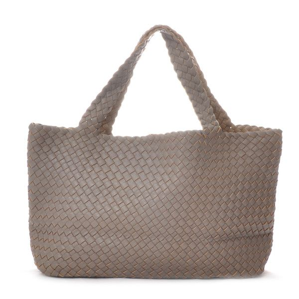 Neutral shopper in recyclable PU leather £109 from the Nordic Angel Lifestyle Boutique.