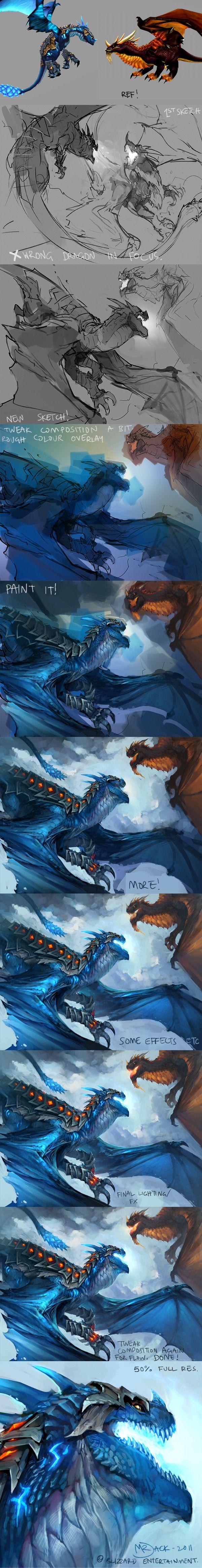 Skyrazor Process by Mr--Jack.deviantart.com on @deviantART
