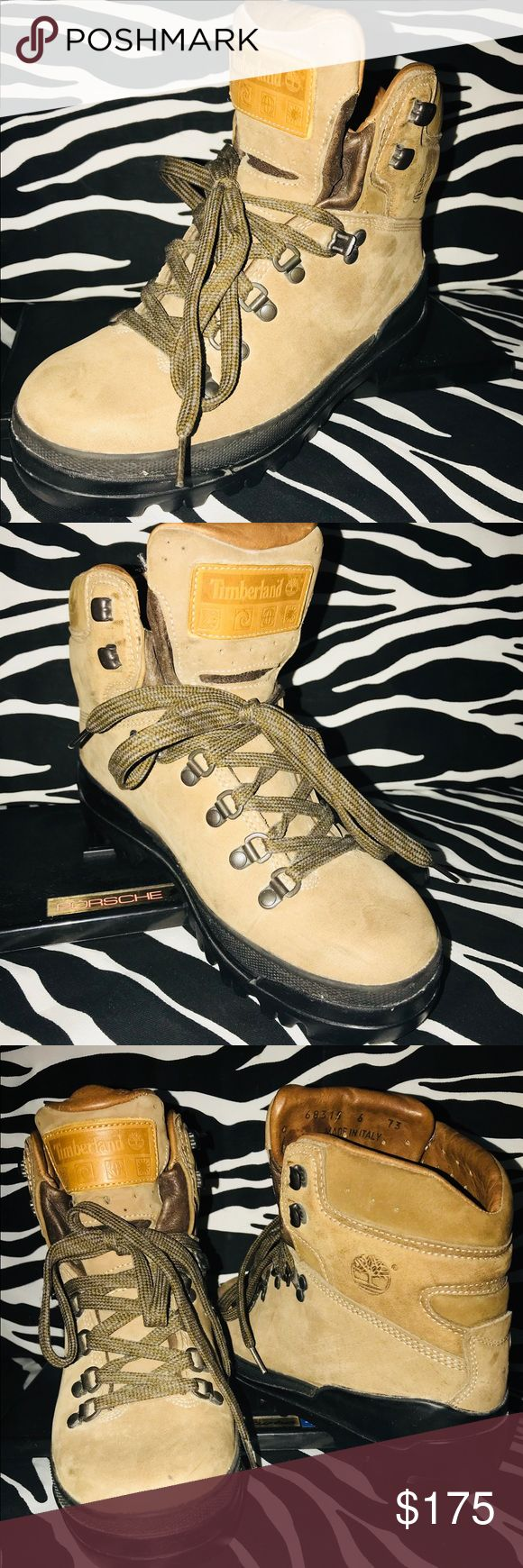 TIMBERLAND Hiking Boots Beige 40 Below Size 6 Excellent Like New Condition - Ready to Climb  - Made In Italy  - Size 6 - Core Tex Lining  - Totally Clean Inside. Minor Scuffs - Competitive Offers Welcome  - Satisfaction Guaranteed Timberland Shoes Lace Up Boots