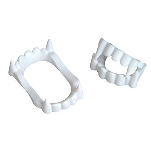 White Vampire Fangs Plastic Werewolf Teeth Halloween Costume Accessory 3 >>> To view further for this item, visit the image link.