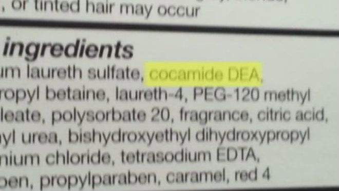 Check me out in this story and see if you agree with what I said about Cocamide DEA found in some shampoo bottles...http://www.clickorlando.com/news/cocamide-dea-found-in-shampoo-bottles/-/1637132/22761468/-/qn09az/-/index.html