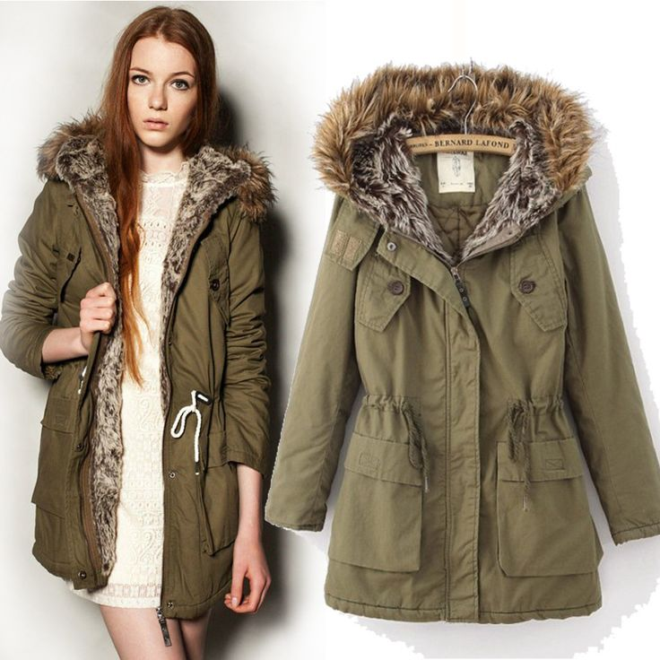 How to style olive green parka