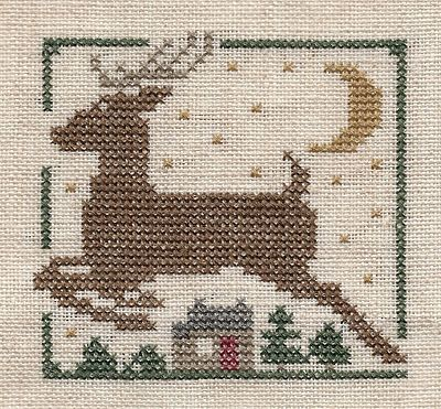 Garden Grumbles and Cross Stitch Fumbles: Christmas Ornament