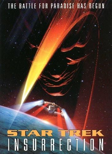Star Trek Insurrection Movie Poster Puzzle Fun-Size 120 pcs