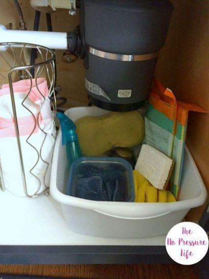 29 To Consider For Under Kitchen Sink Organization Dollar Stores
