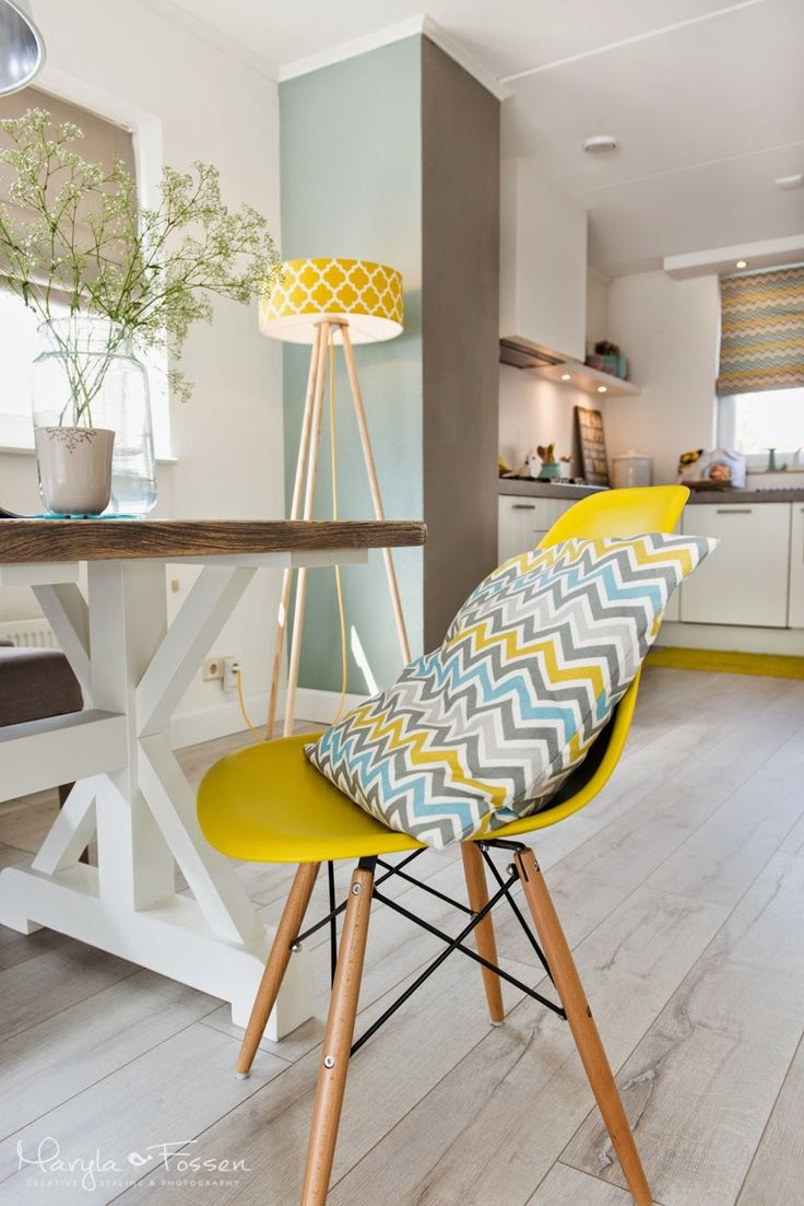 You will feel wonderfully on this comfy yellow chair among pastels in the interior.  http://dreamoffurniture.com/en/   Visit us in our Shop. We have many full of colour chairs.