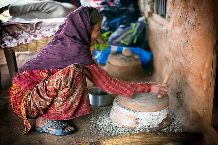 Photography Competition 2016   National Geographic Traveller (UK) Daily living in Dhading, Nepal, post earthquake. People in this valley have faced a lot of setbacks but continue to face life cheerfully.