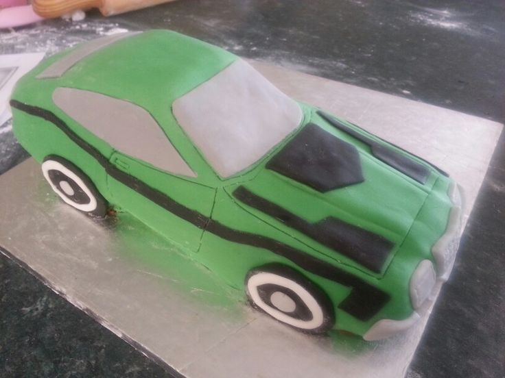 The completed car