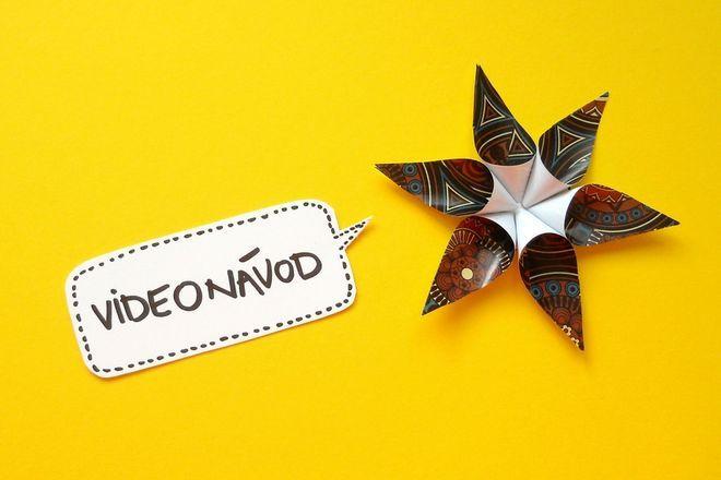 Návod na jednoduchou vánoční hvězdu z papíru