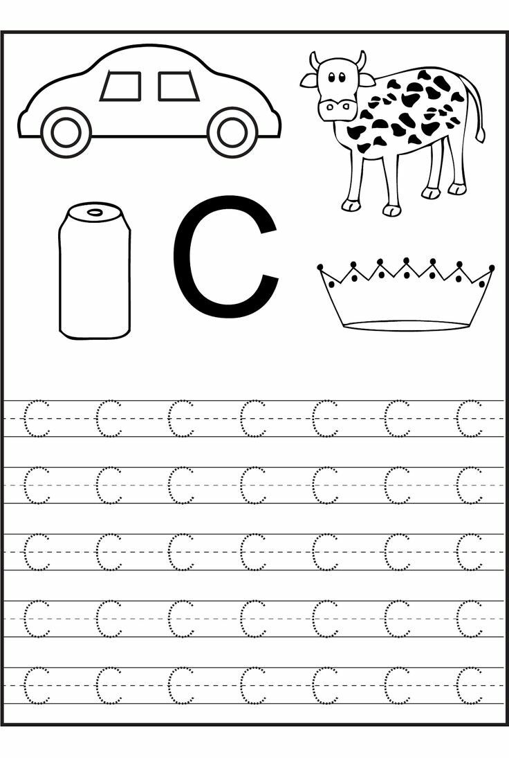 Pin By Engdoaa On Worksheets For Kg And Pre Kg Learning Worksheets Free Preschool Worksheets Letter C Worksheets