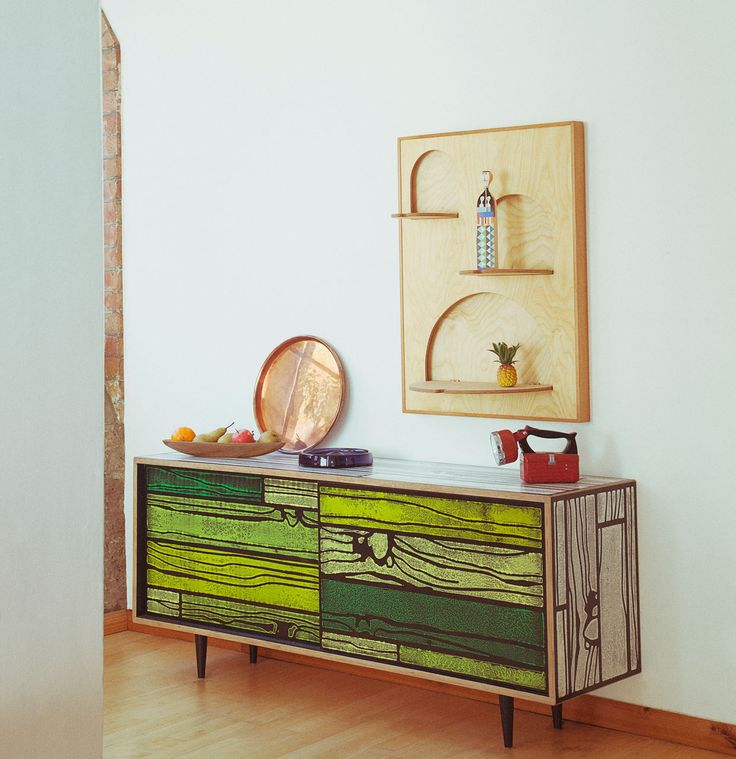 Creative Wall Shelves Fold Back Up When Not In Use - Design Milk