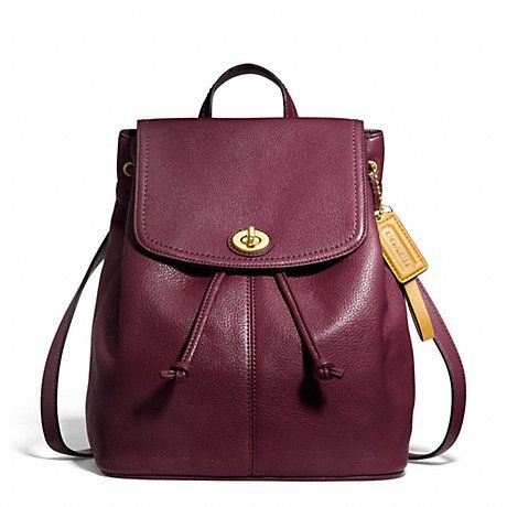 PARK LEATHER BACKPACK