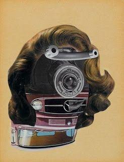 Erro, Méca-Make-Up, collage-vers-1959-Paris
