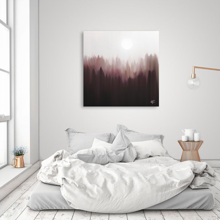 «Autumn Fog», Exclusive Edition Aluminum Print by Okti W. - From $59 - Curioos