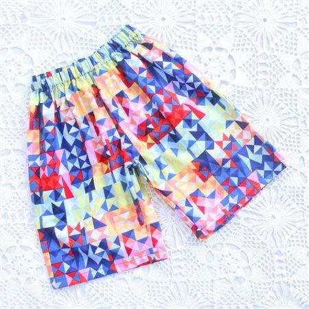 Boys Prism Print Playtime Shorts - Size 1,3,5,7,8