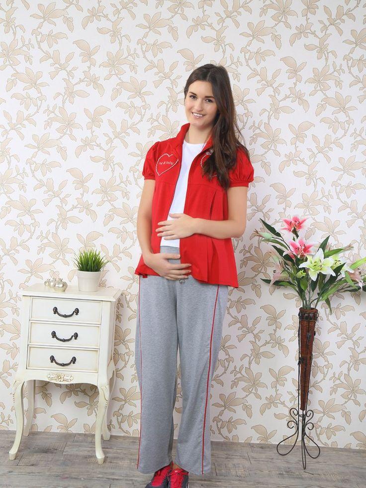 Miss Perry 4000 Hamile Pijama Takım, Penye kumaştan üretilen hamile pijama takım modelidir.