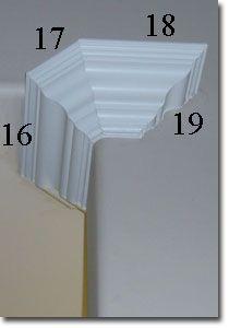 Corner Cuts on Crown Moulding
