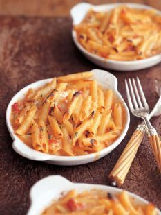Penne Pasta with Five Cheeses