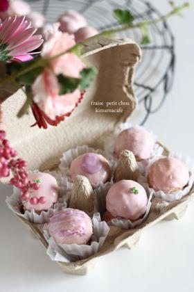 「豆乳苺のプチシュー」yuki | お菓子・パンのレシピや作り方【corecle*コレクル】
