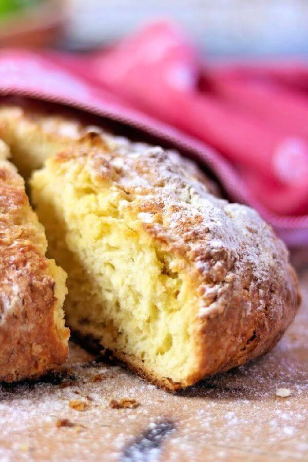 Quick And Easy Irish Soda Bread Recipe Made With Buttermilk No Raisins Quickbread Recipe Buttermilk Irish Soda Bread Recipe Irish Soda Bread Soda Bread