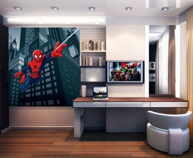 Marvel Spiderman Wall Mural By WallandMore. Marvel Collection.
